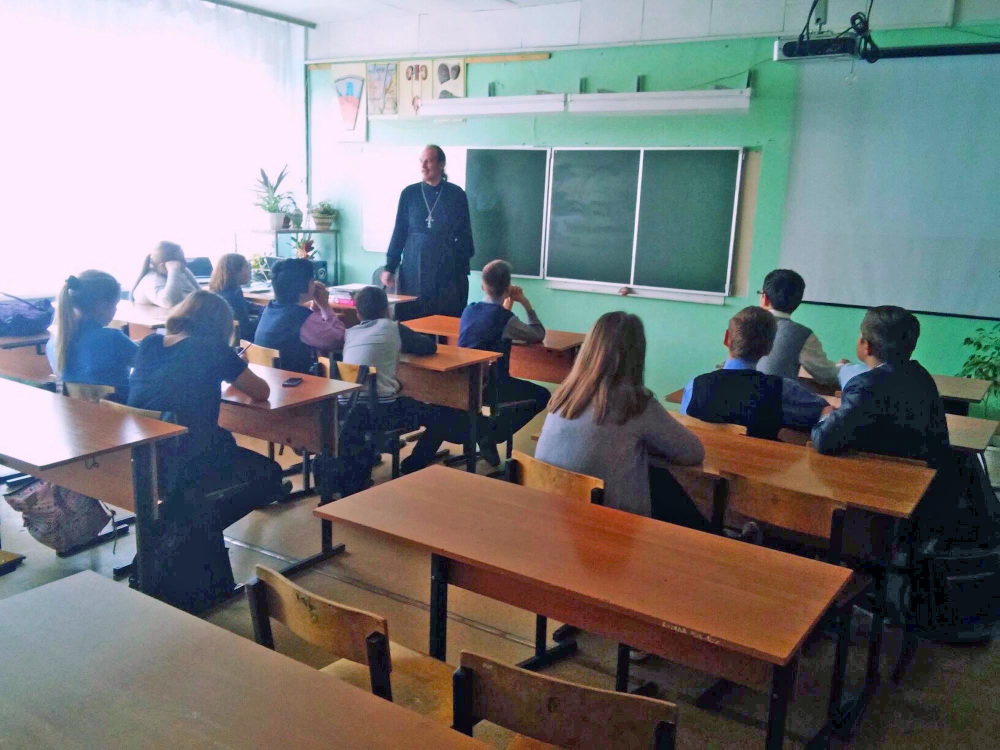 Урок трезвости в Радужненской средней школе