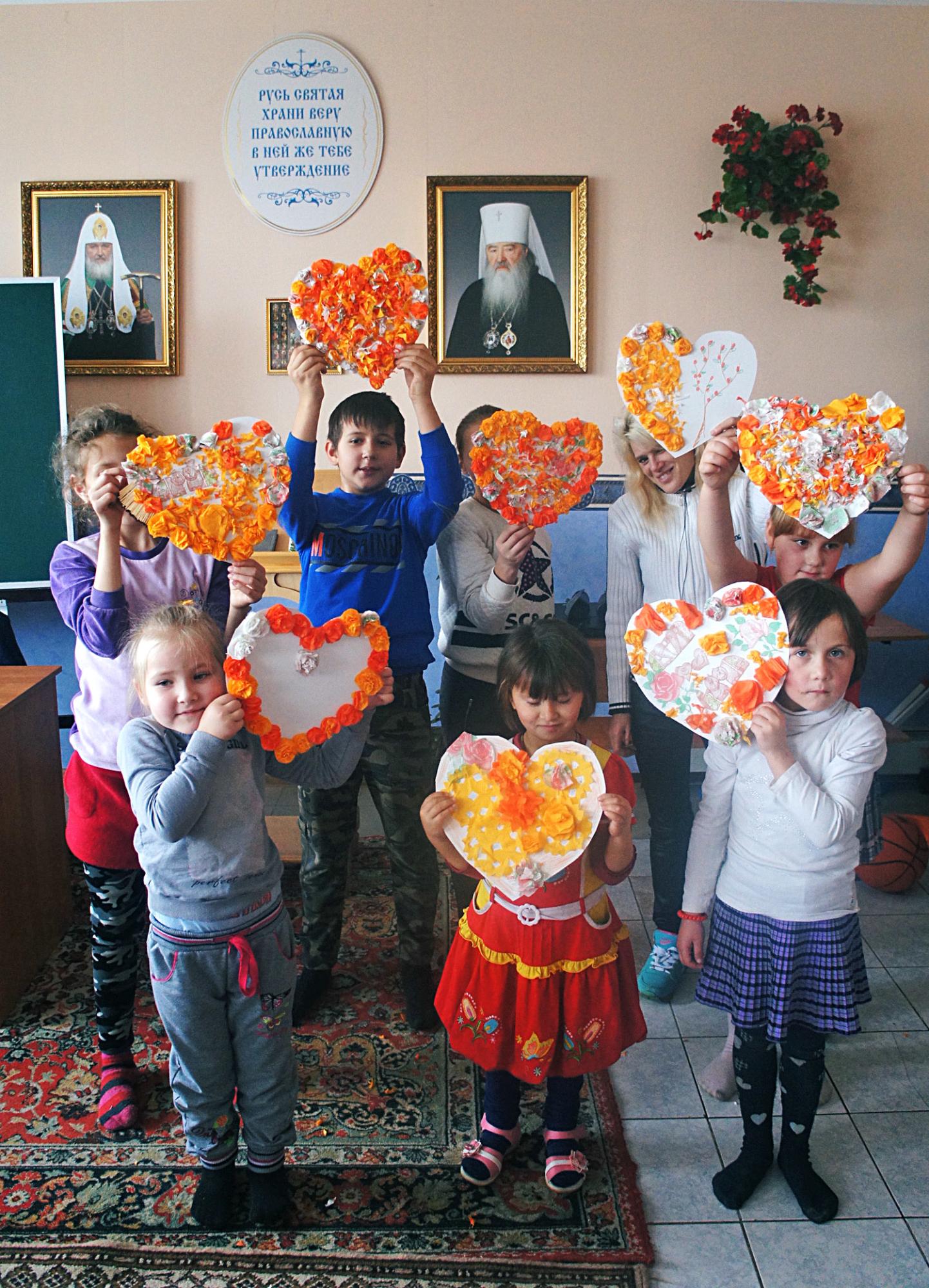 Акция «Согреем детские сердца» на приходе Казанского храма деревни Богдановка
