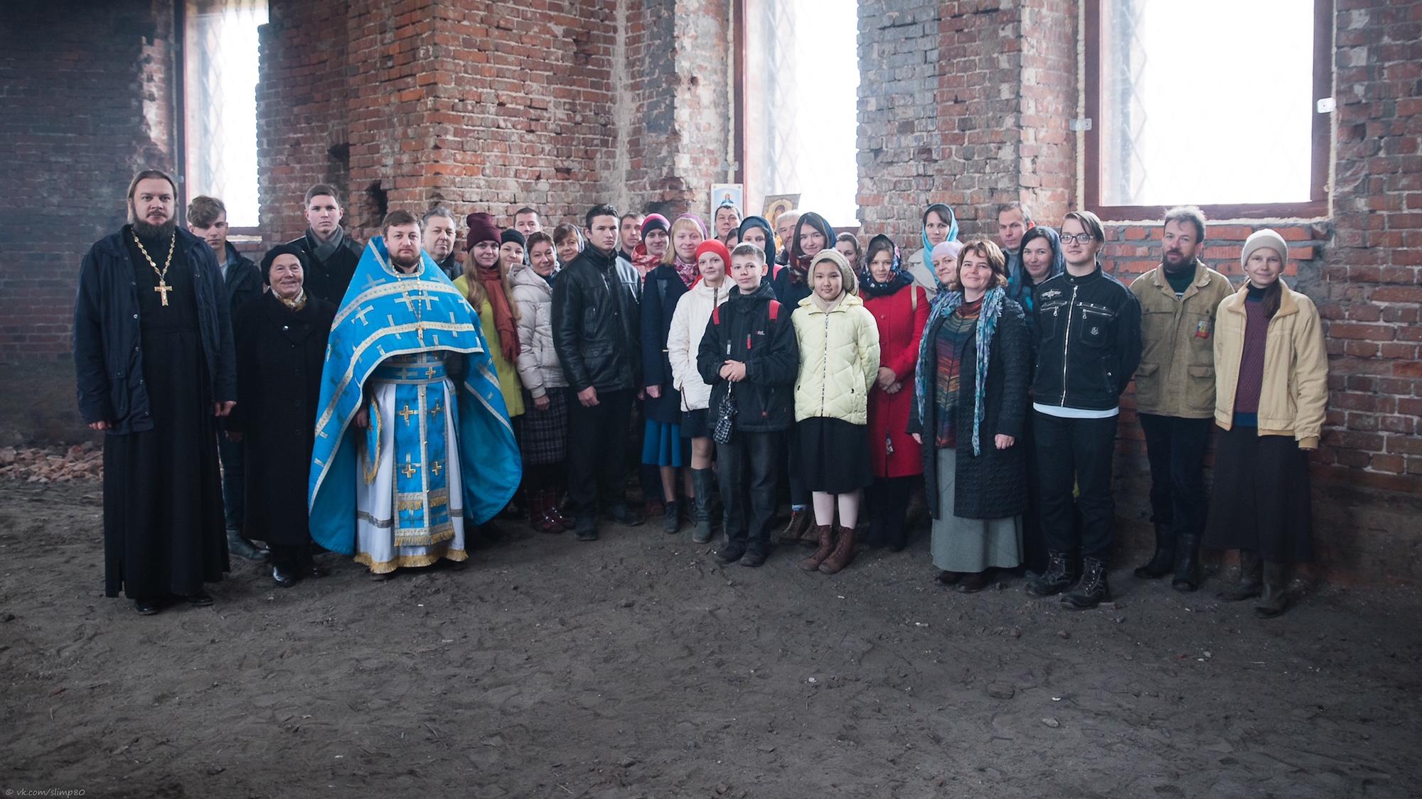 Престольный праздник в Покровском храме погоста Красна