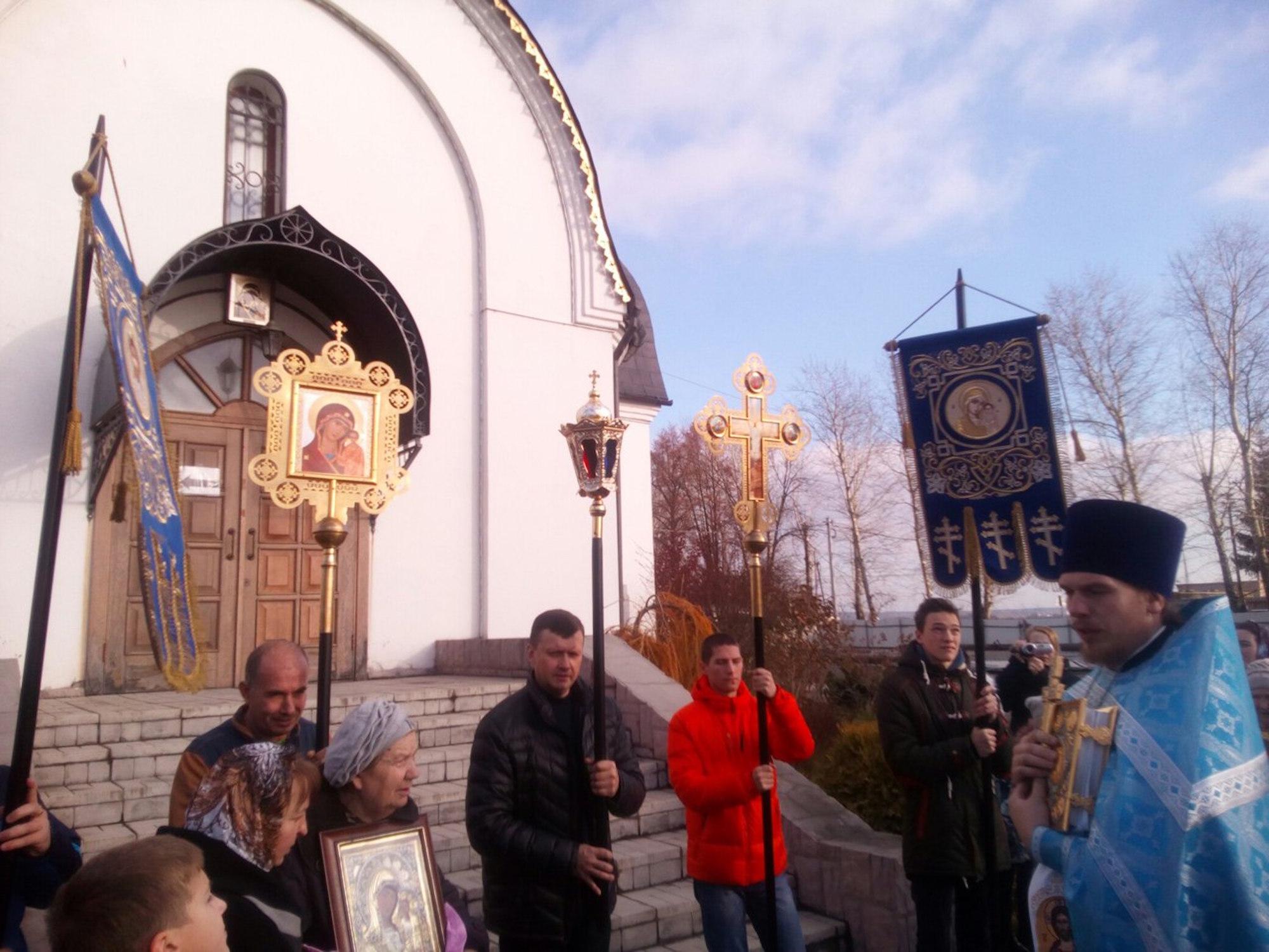 Престольный праздник в Казанском храме поселка Радужный