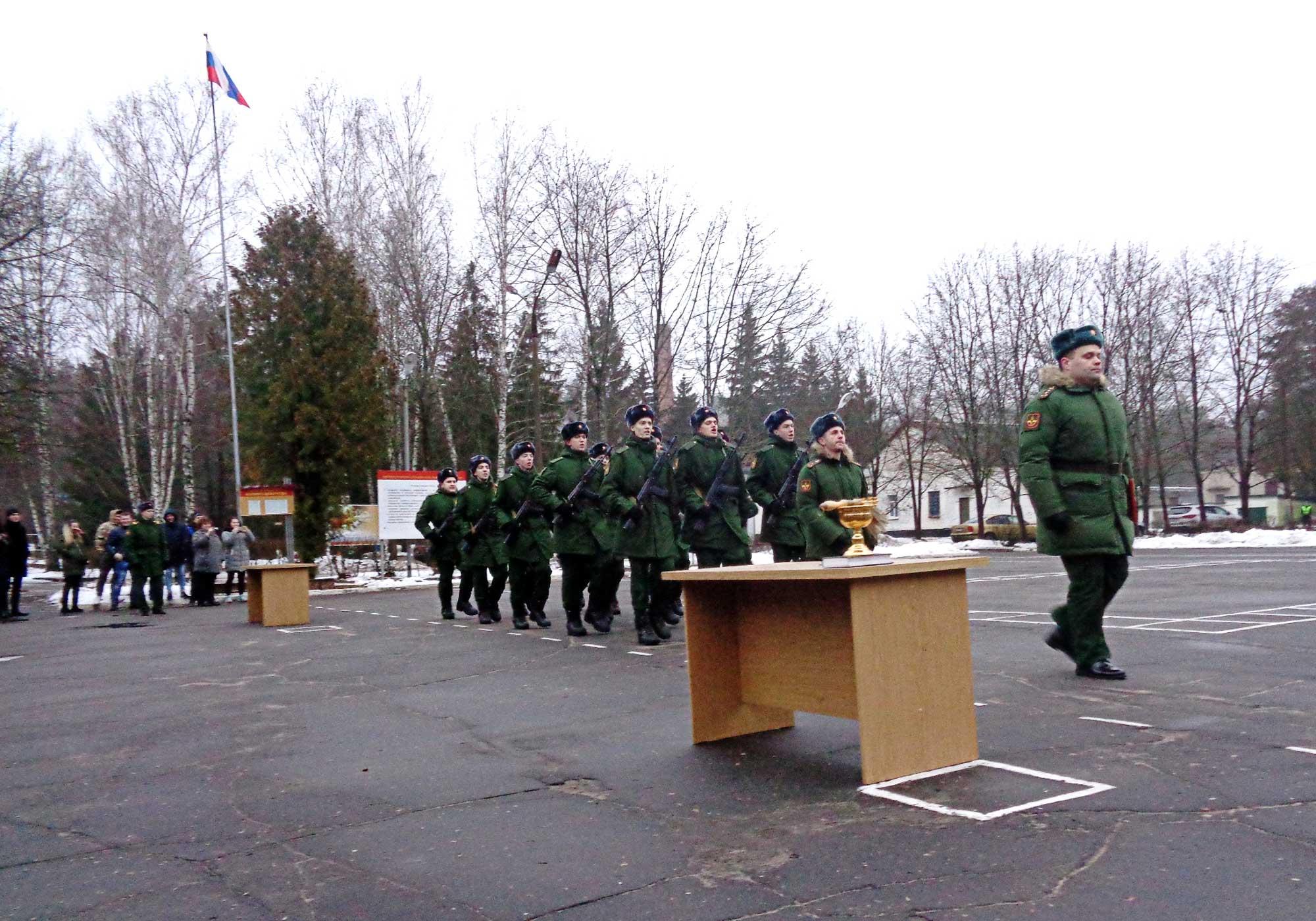 Присяга в войсковой части № 25801-Б