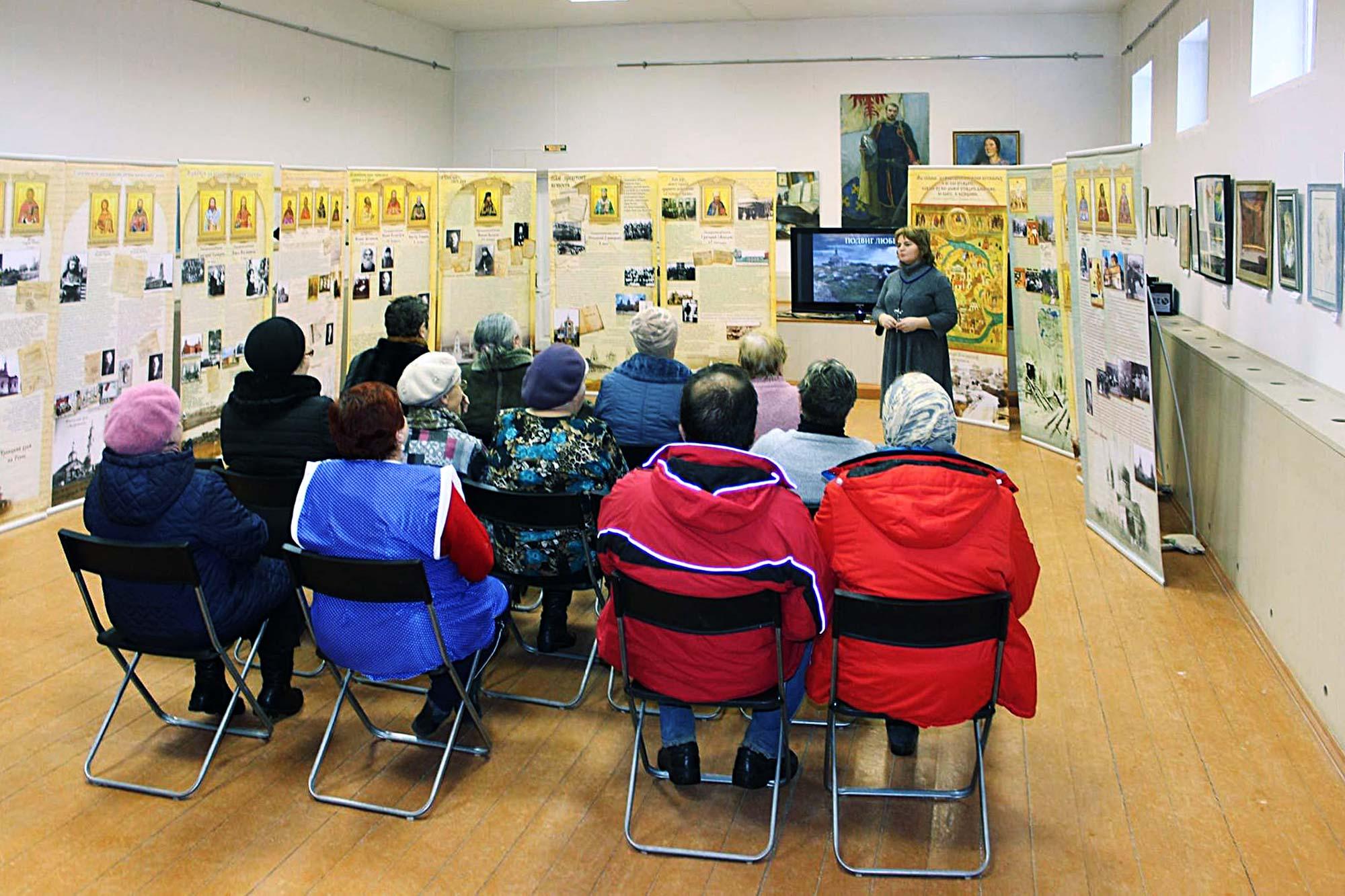 Выставка о новомучениках в Черкизовском центре досуга и культуры