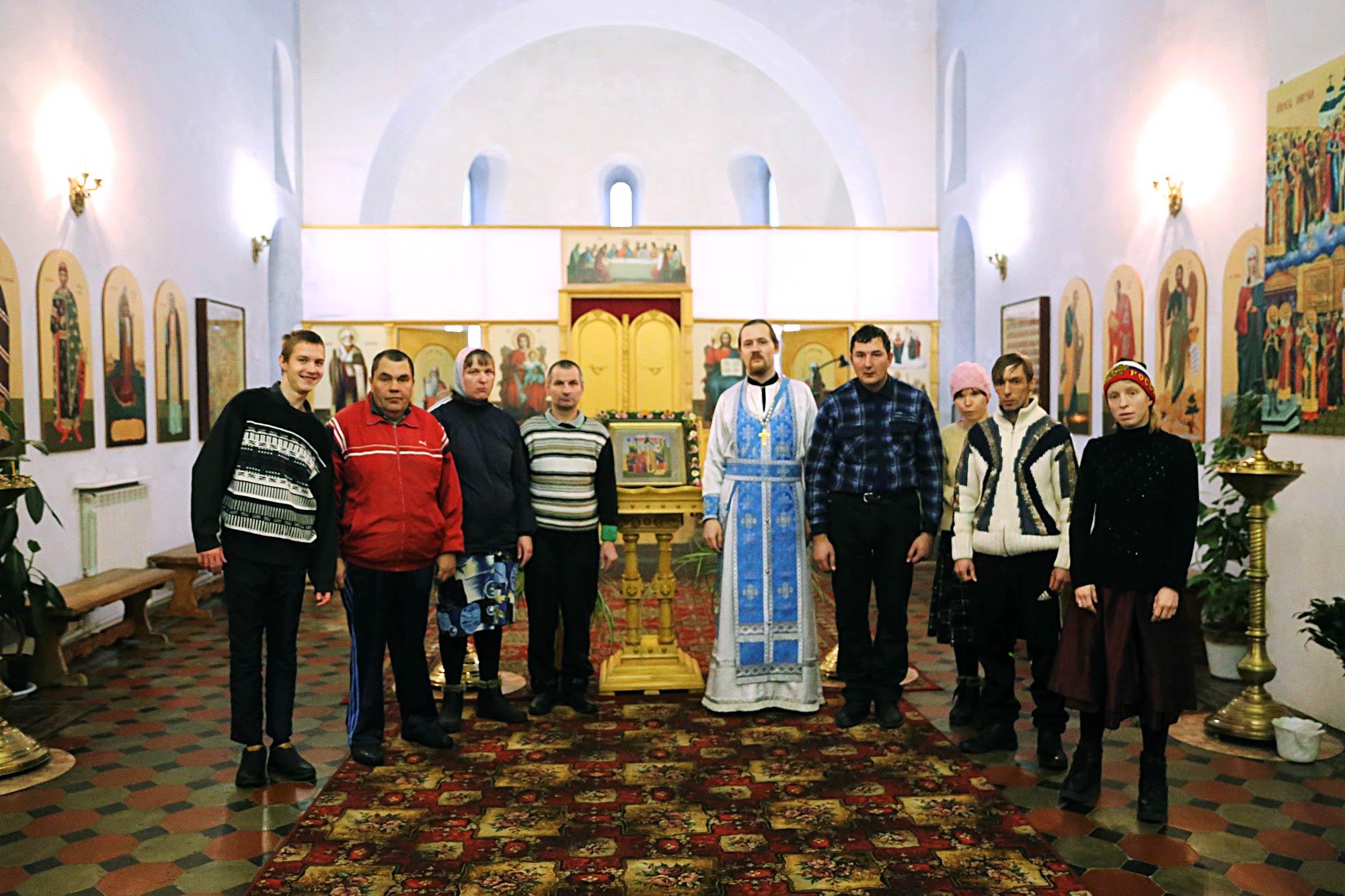 День инвалидов на приходе Покровского храма села Никульское