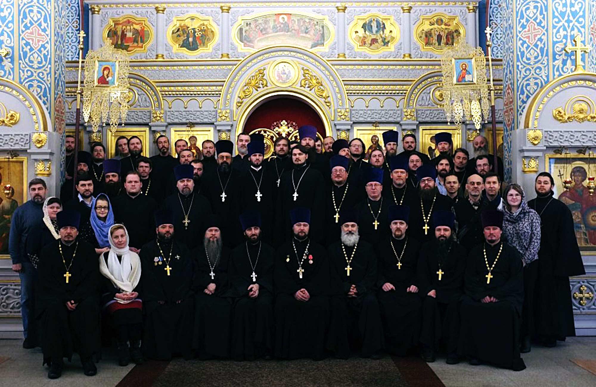 Участие в собрании Миссионерского отдела Московской епархии