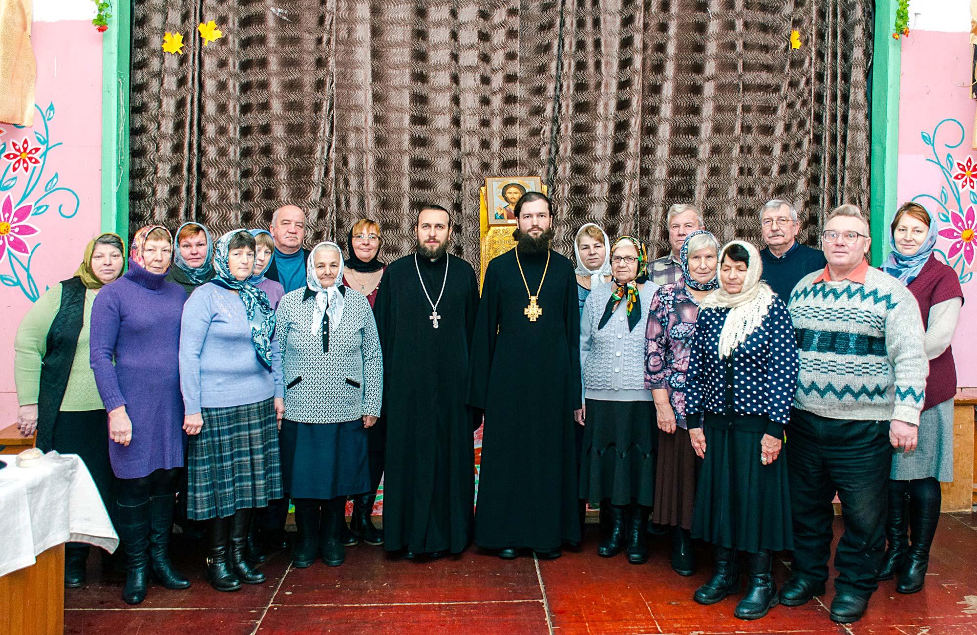 Учредительное собрание прихода села Троицкие Озерки