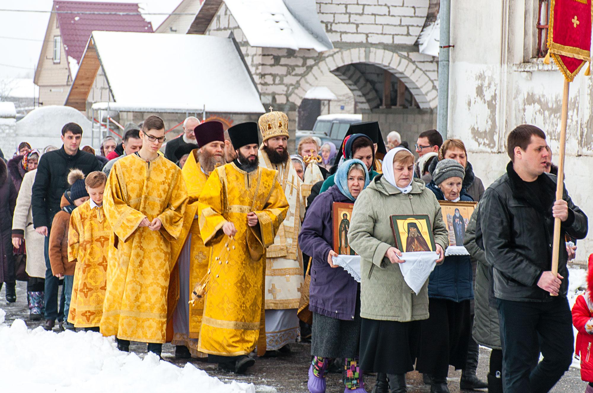170-летие освящения Никольского храма села Парфентьево