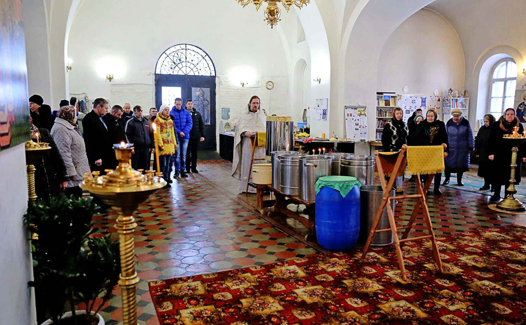 Крещение Господне на приходе Покровского храма села Никульское