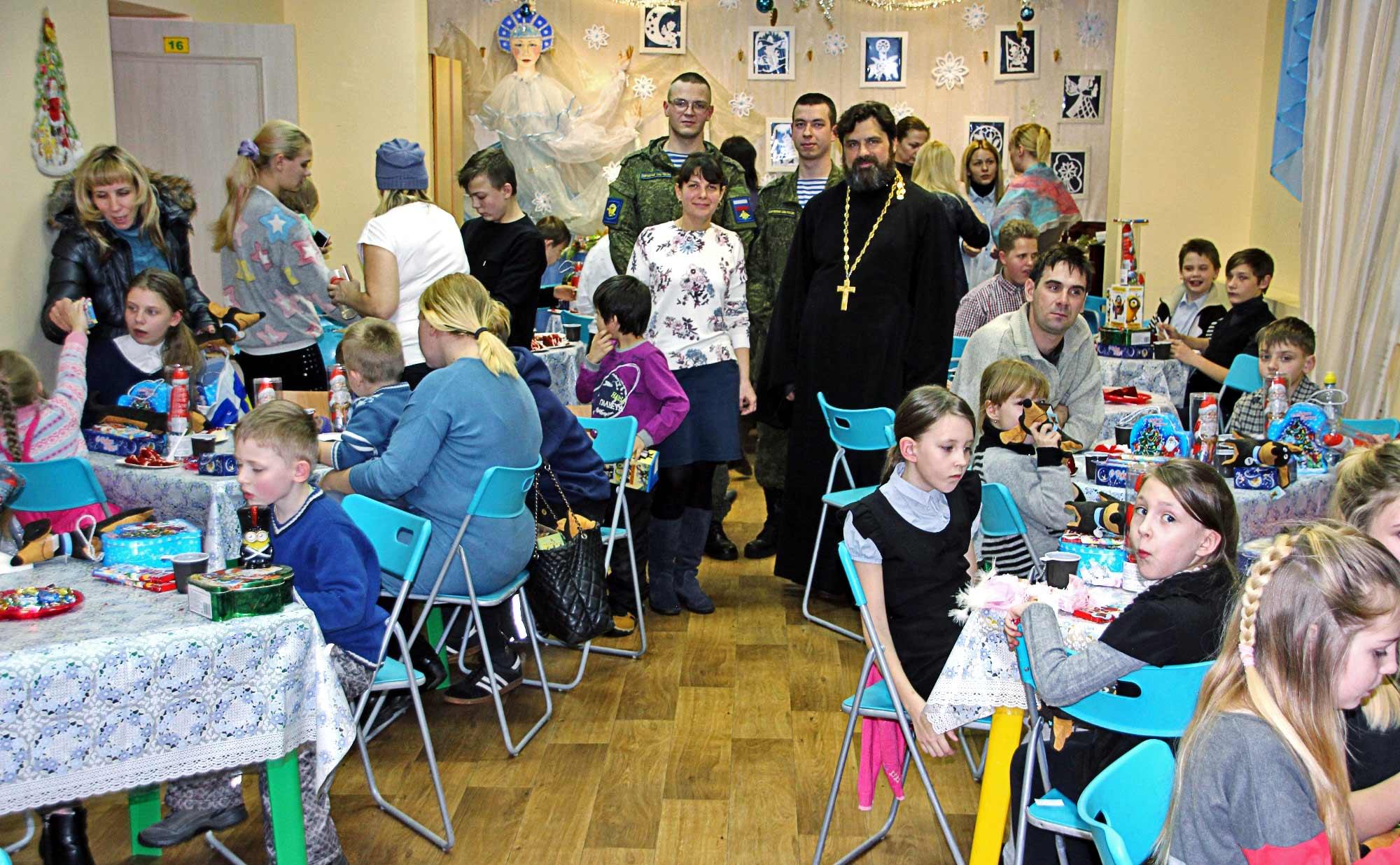 Посещение детских реабилитационных учреждений