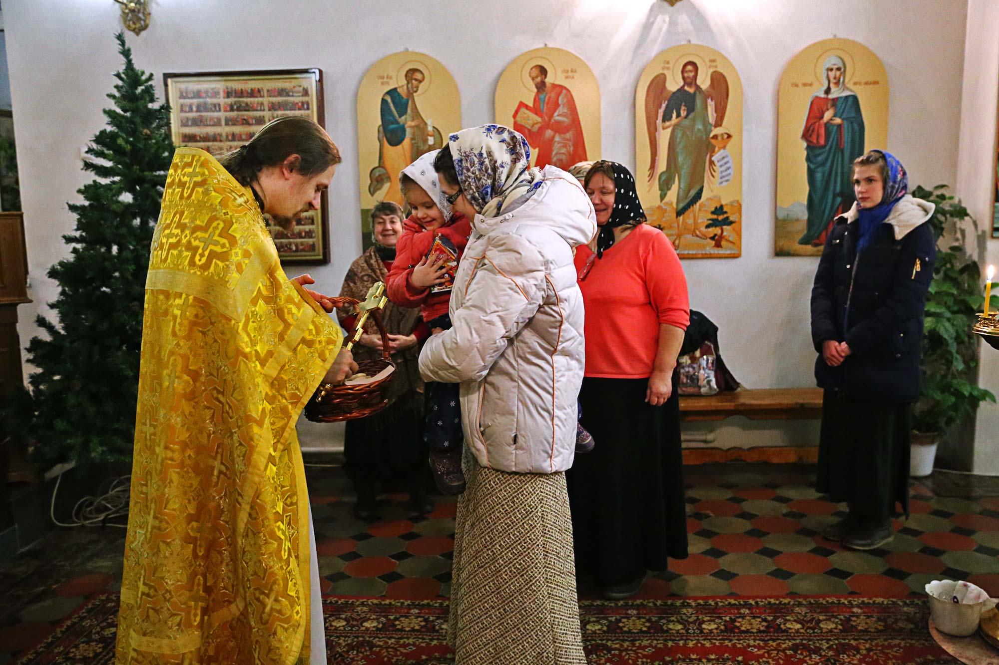 Новолетие на приходе Покровского храма села Никульское