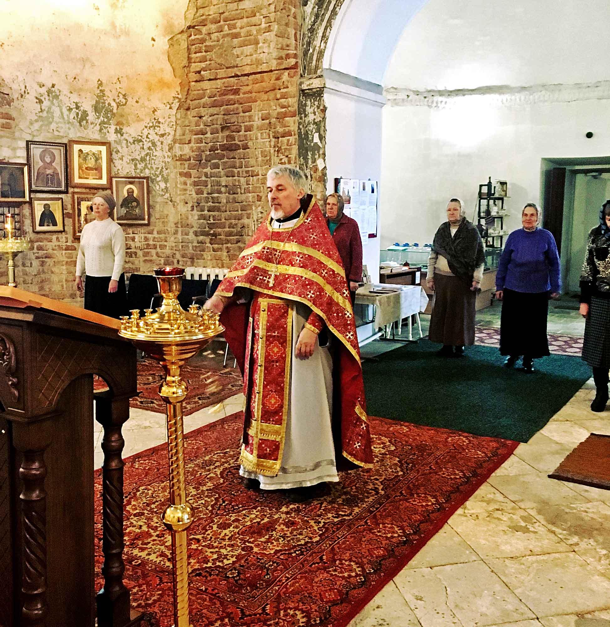 День памяти новомучеников и исповедников Подмосковных на приходе Успенского храма села Андреевское