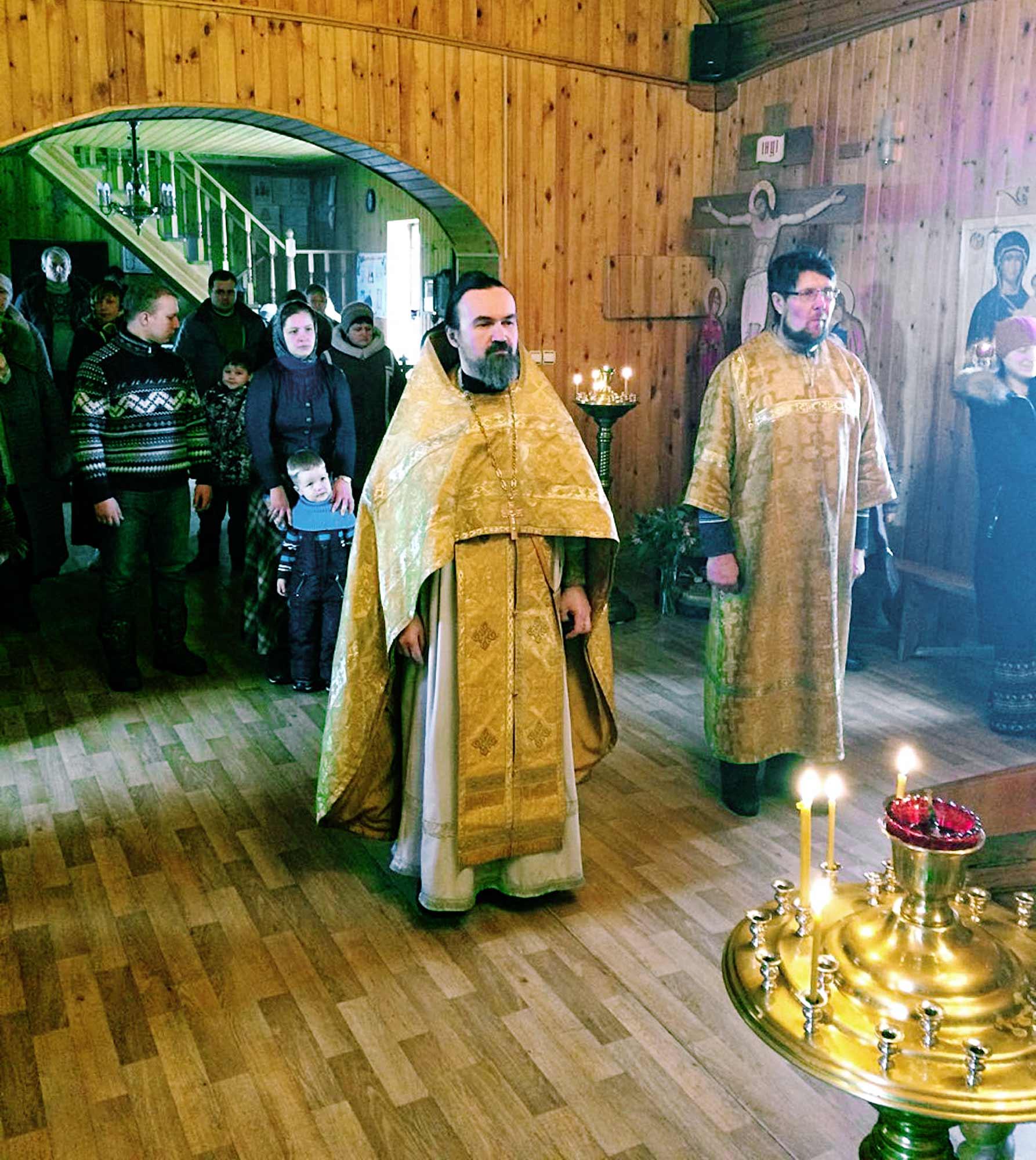 День памяти новомучеников и исповедников Подмосковных на приходе Воскресенского храма села Васильево