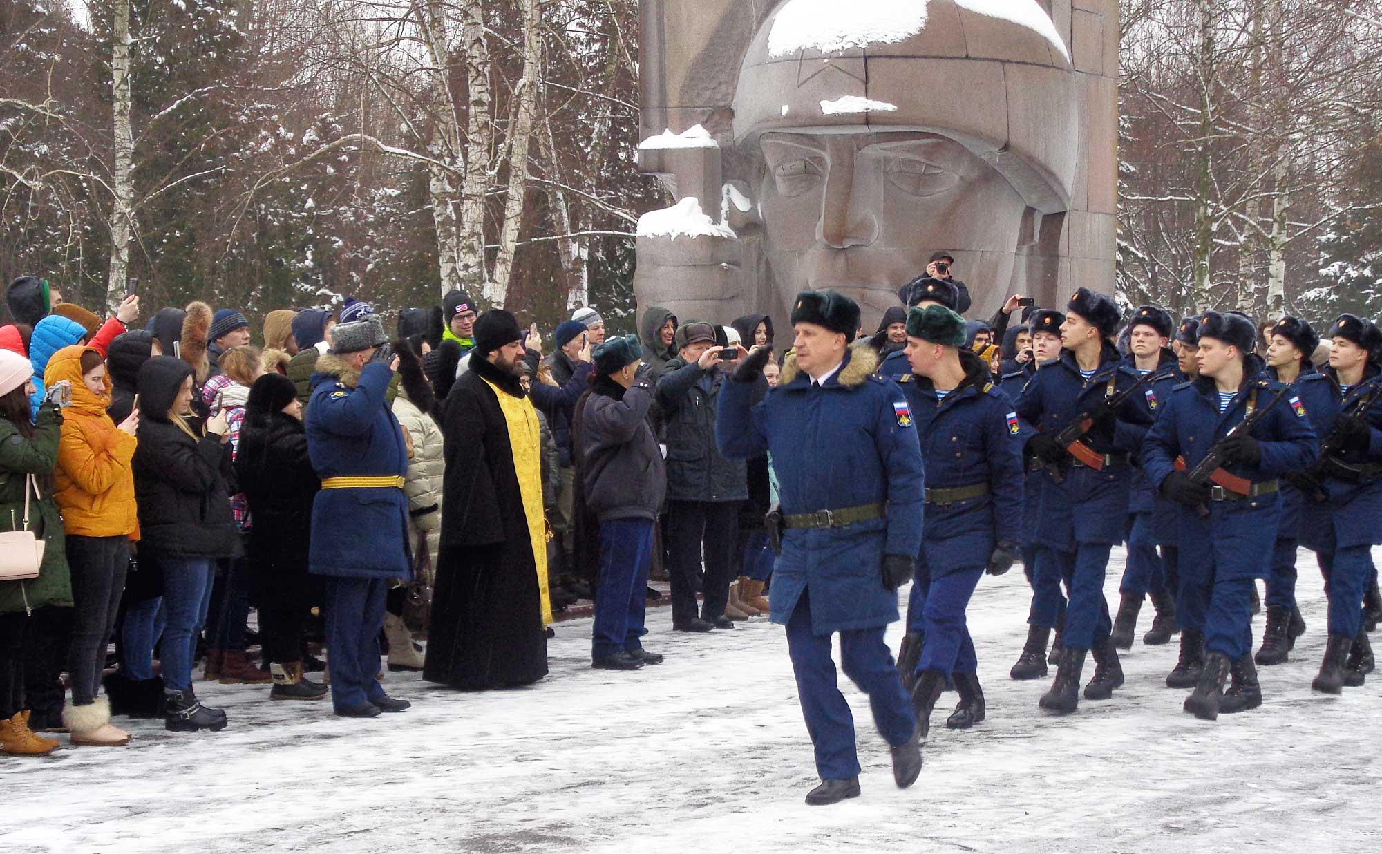 Присяга военнослужащих войсковой части № 40917