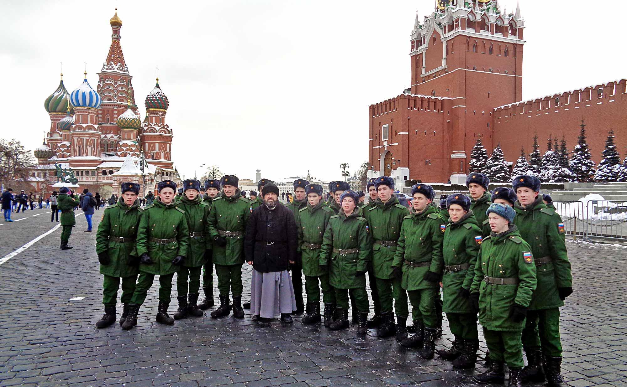 День защитника Отечества на приходе Казанского храма деревни Грайвороны