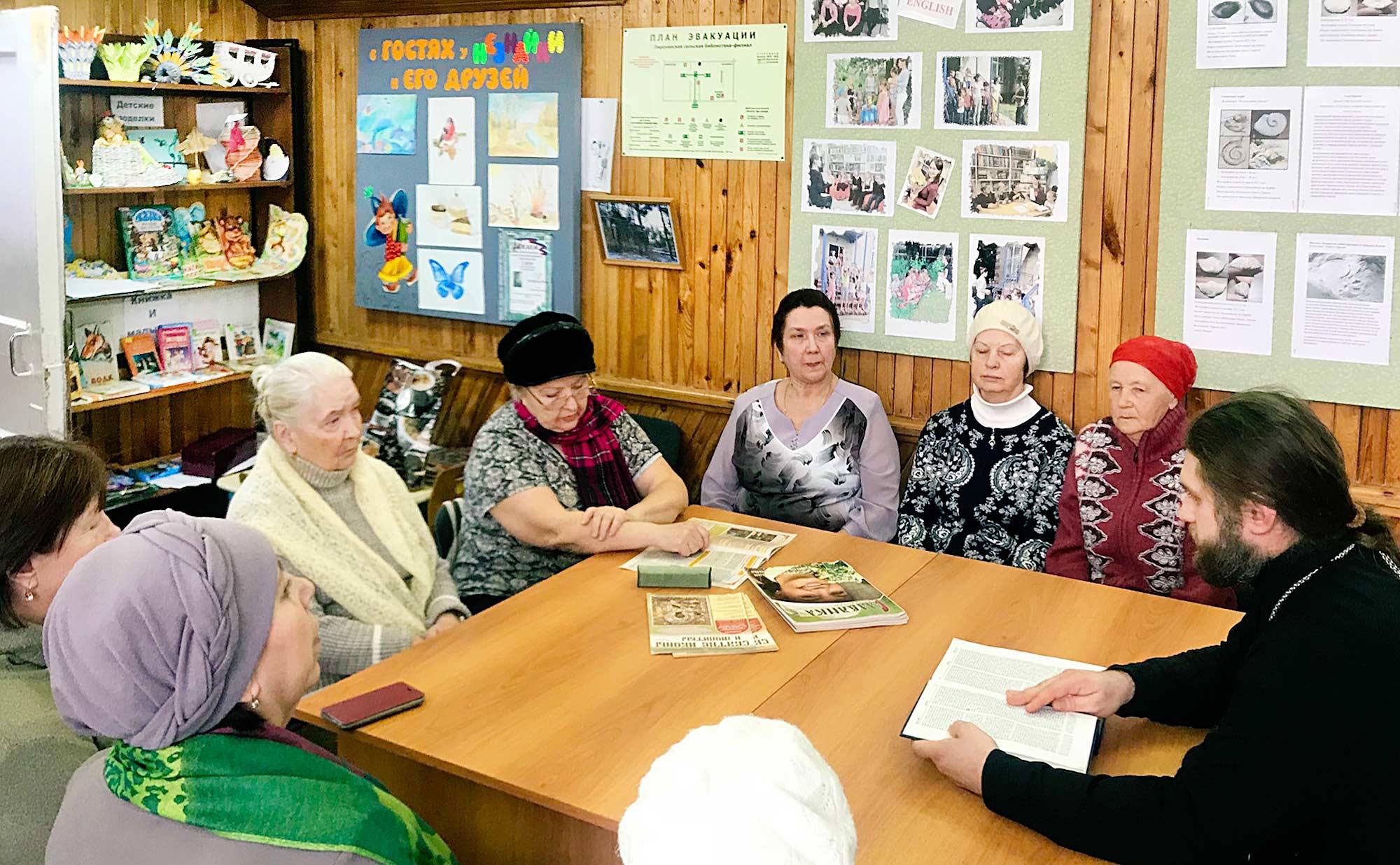 День православной книги на приходе Троицкого храма села Пирочи