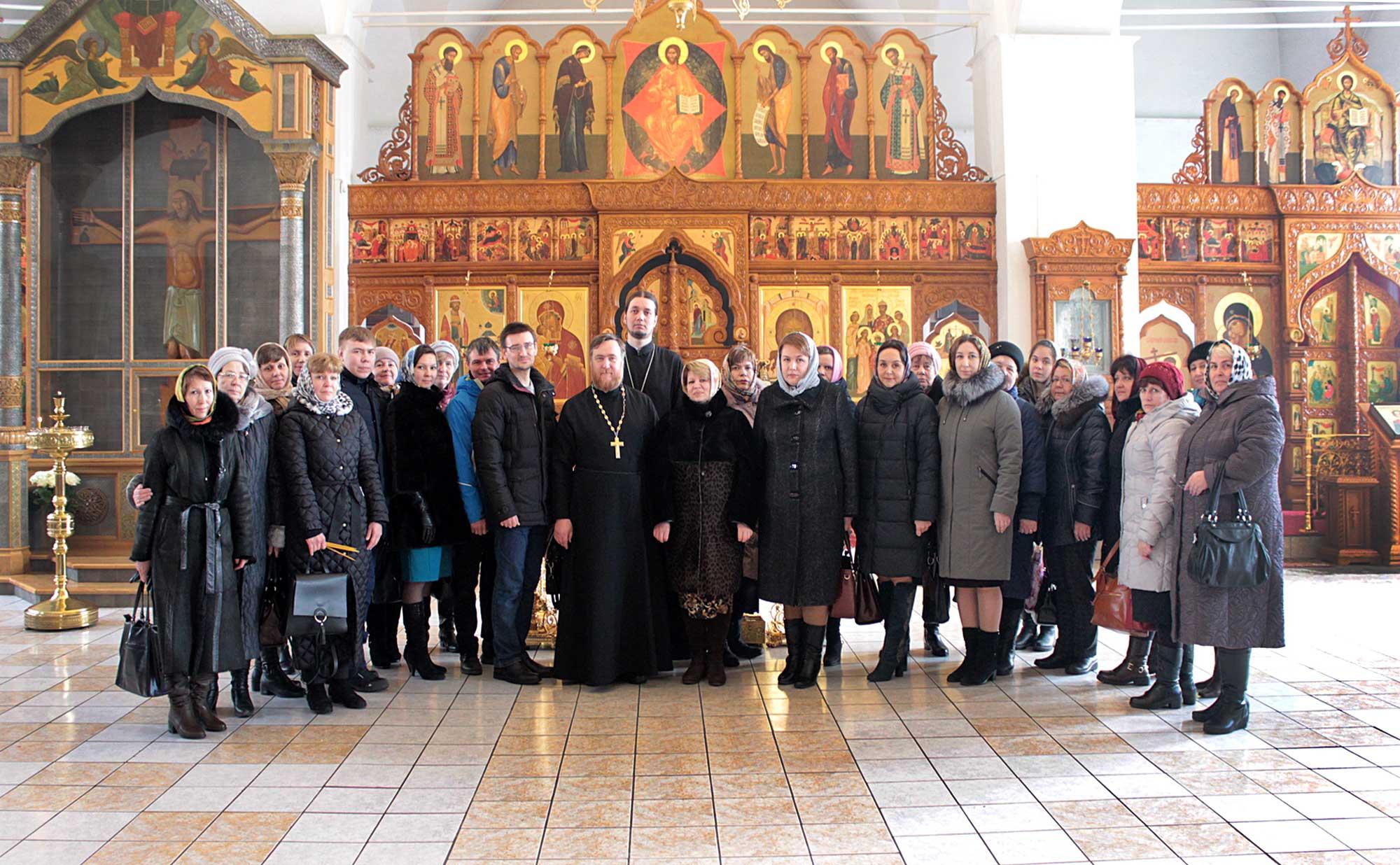 Педагогический совет в Бобреневом монастыре
