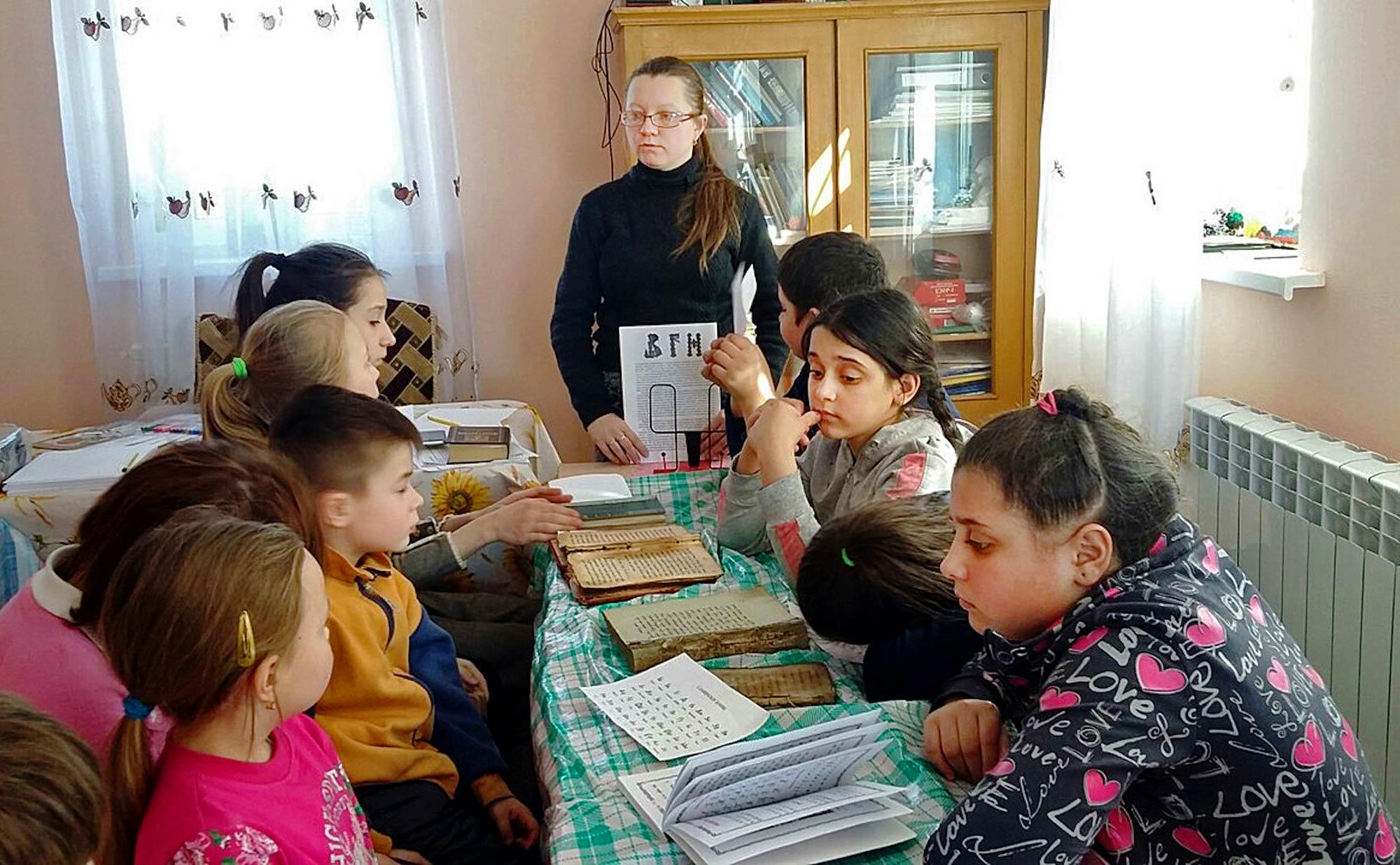 День православной книги на приходе Борисо-Глебского храма города Коломны