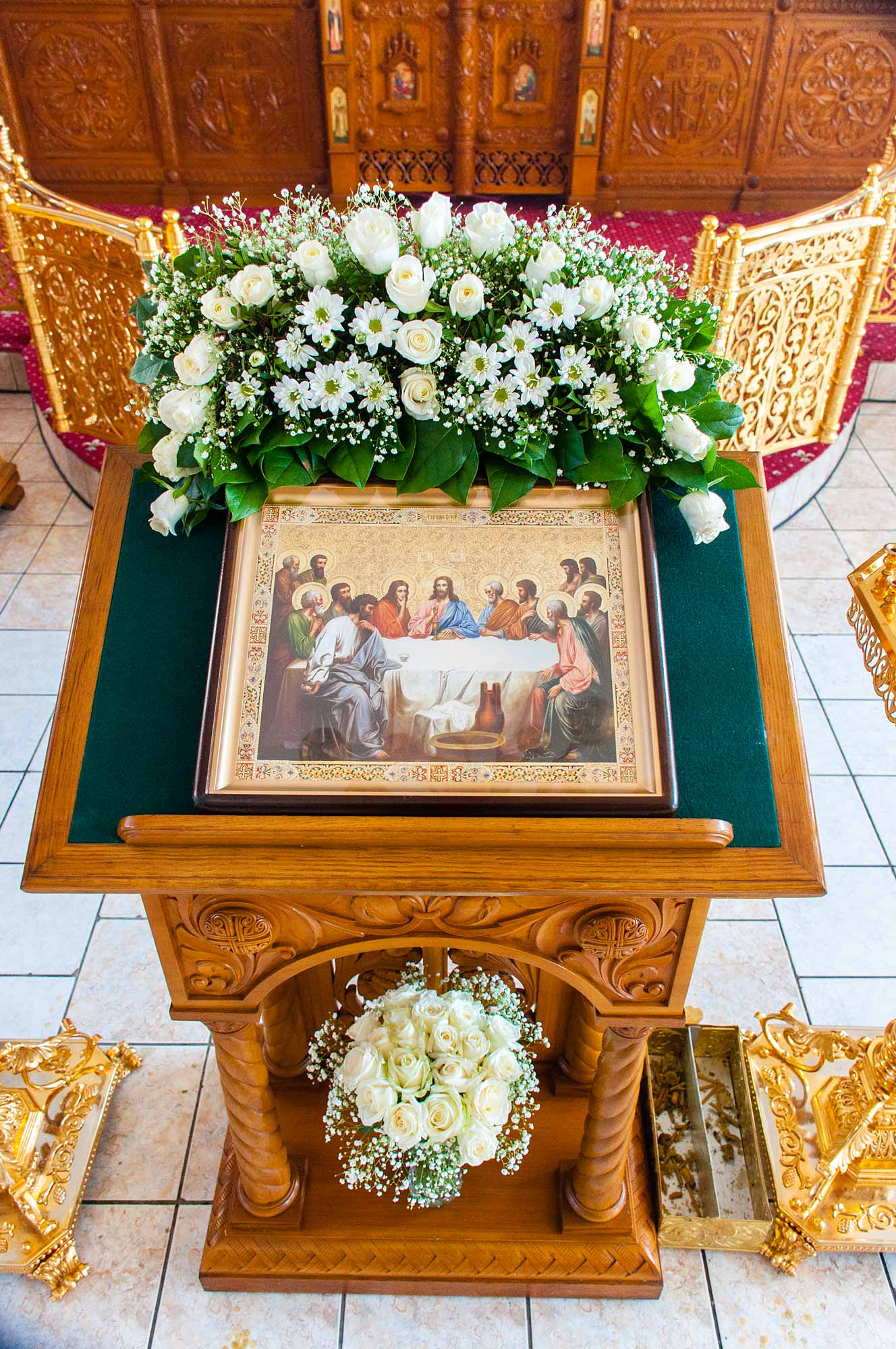 Богослужение на сороковой день преставления архиепископа Можайского Григория