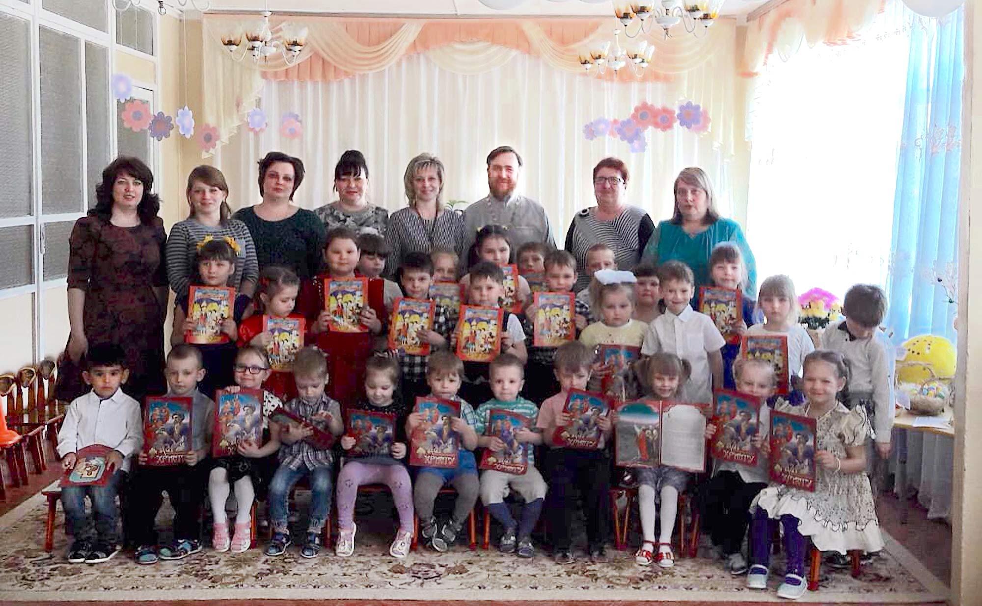 Пасха на приходе Христорождественского храма села Гололобово