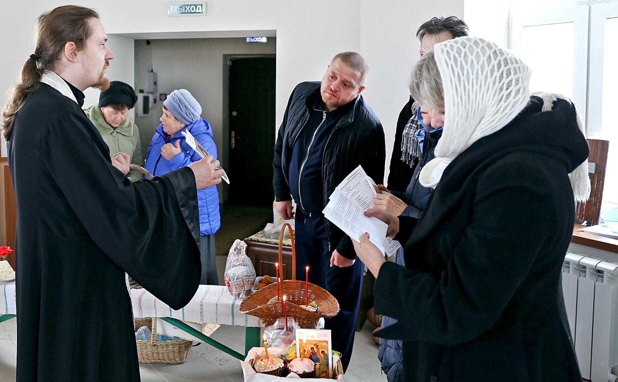 Пасха на приходе Покровского храма села Никульское