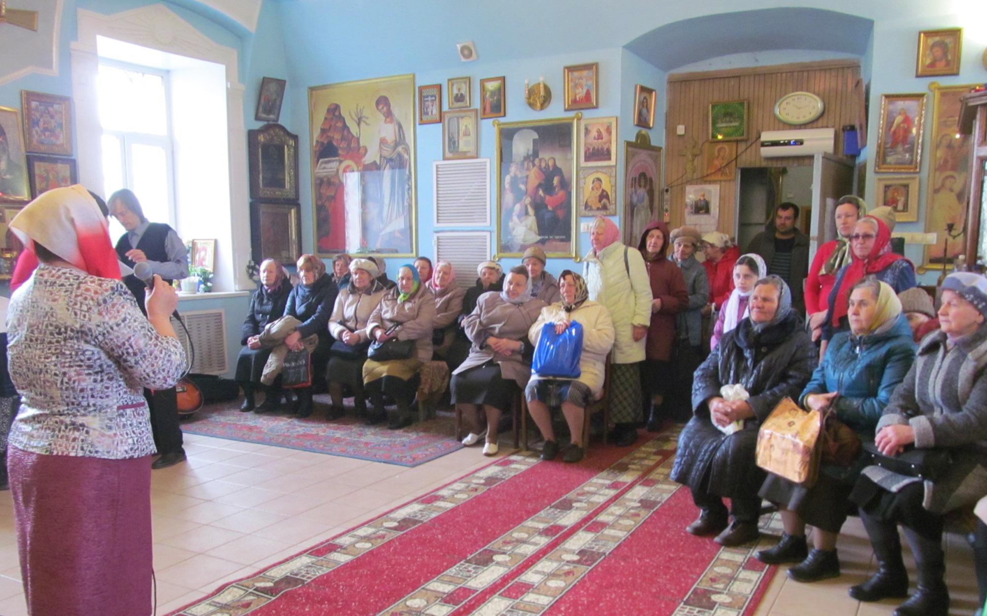 Престольный праздник во Введенском храме села Чанки
