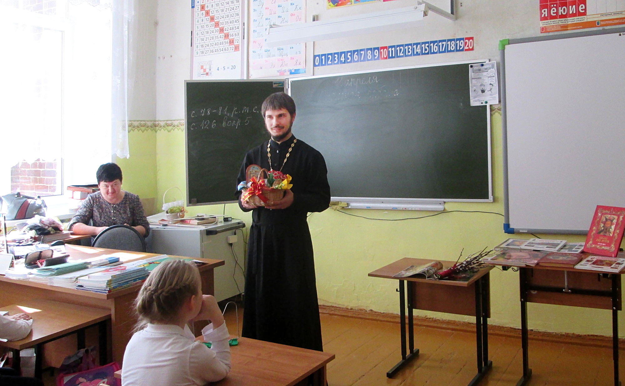 Пасха на приходе Покровского храма села Лысцево
