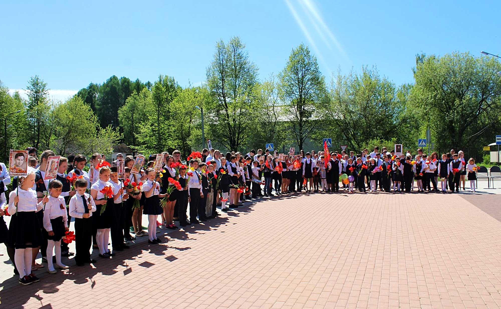 День Победы на приходе Казанского храма деревни Богдановка