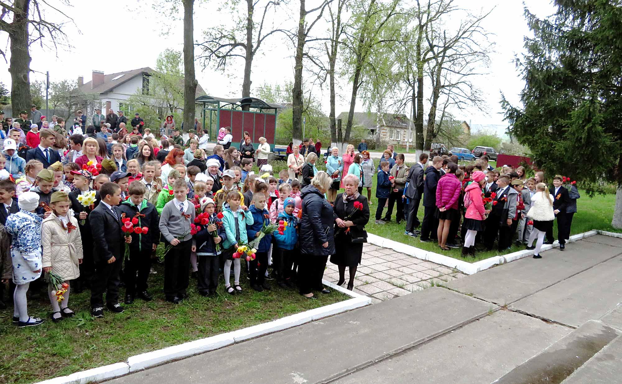 День Победы на приходе Троицкого храма села Пирочи