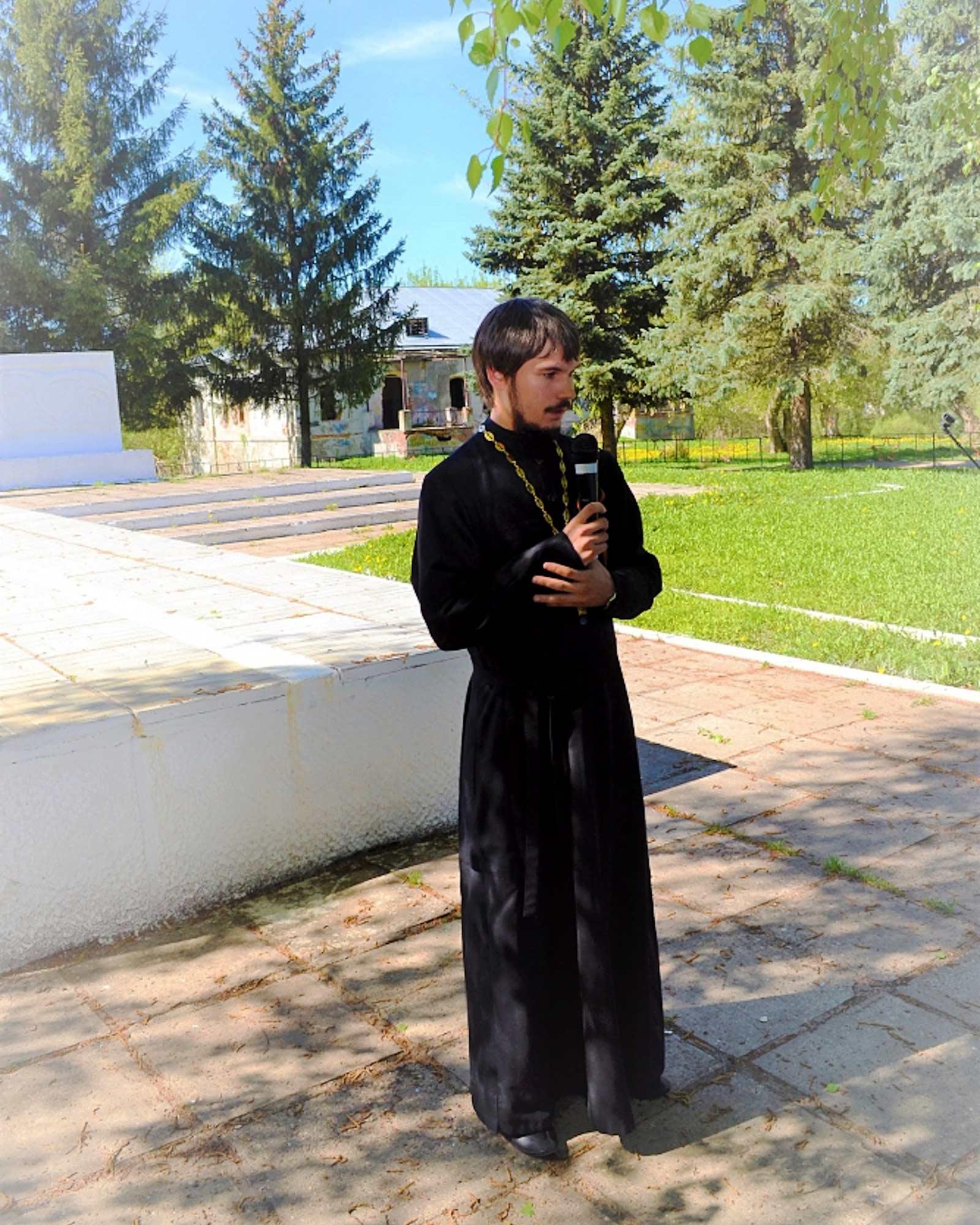 День Победы на приходе Покровского храма села Лысцево