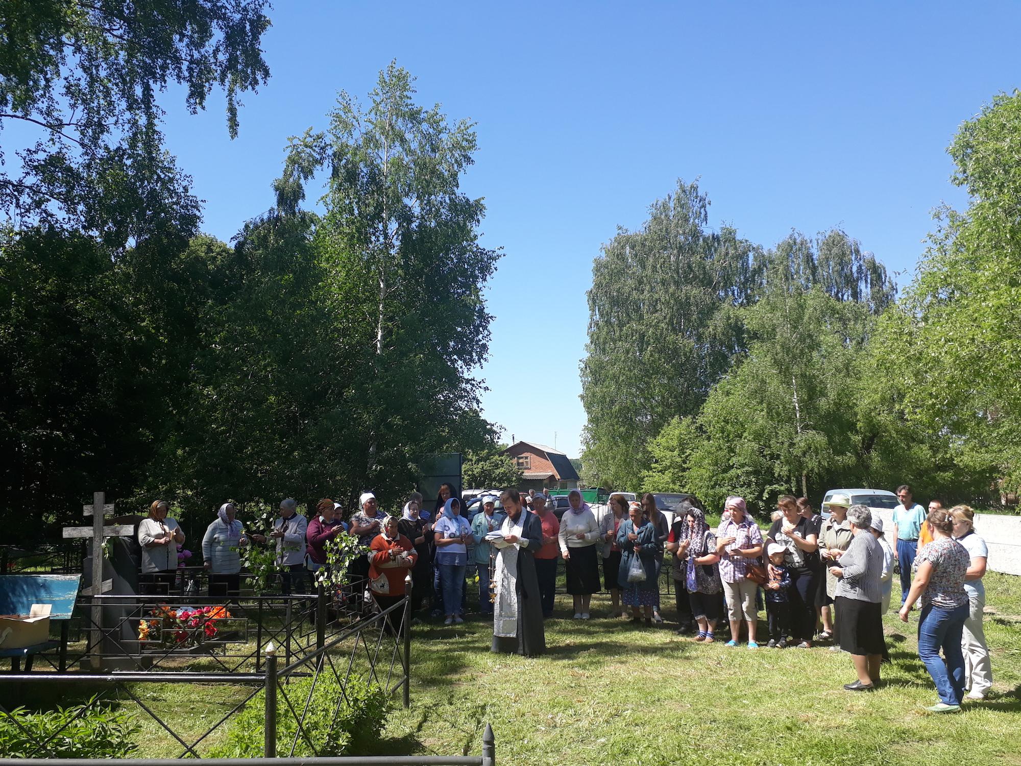 Лития в деревне Воловичи