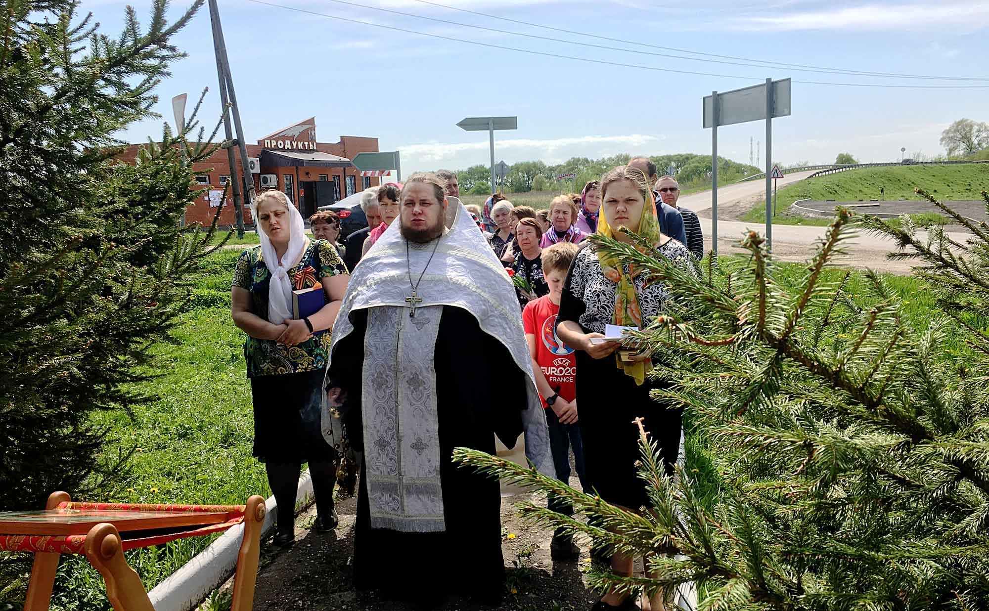 День Победы на приходе Никитского храма села Северское