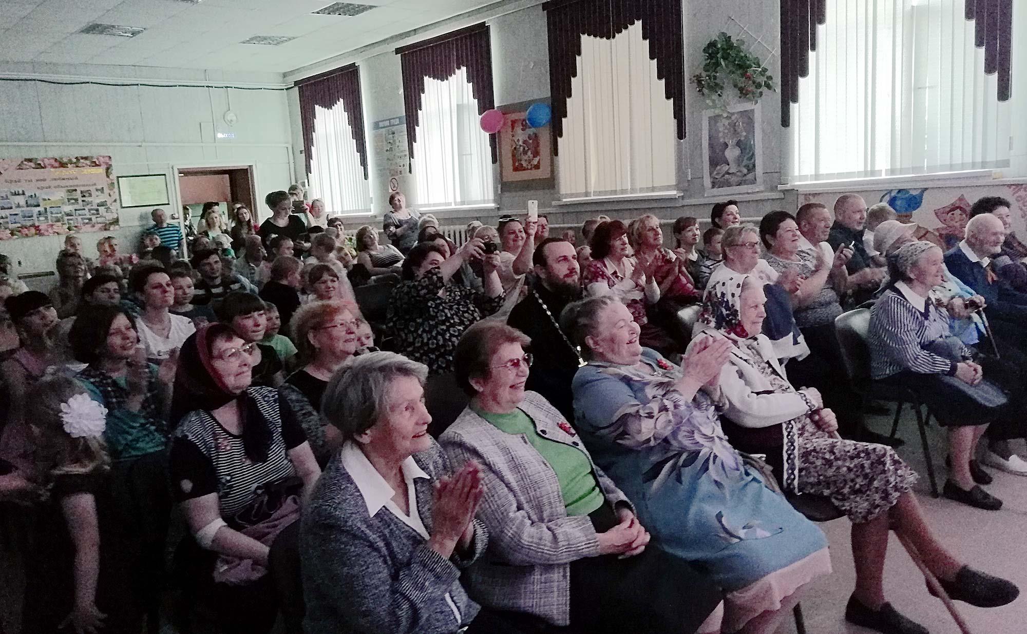 День Победы на приходе Троицкого храма села Троицкие Озерки