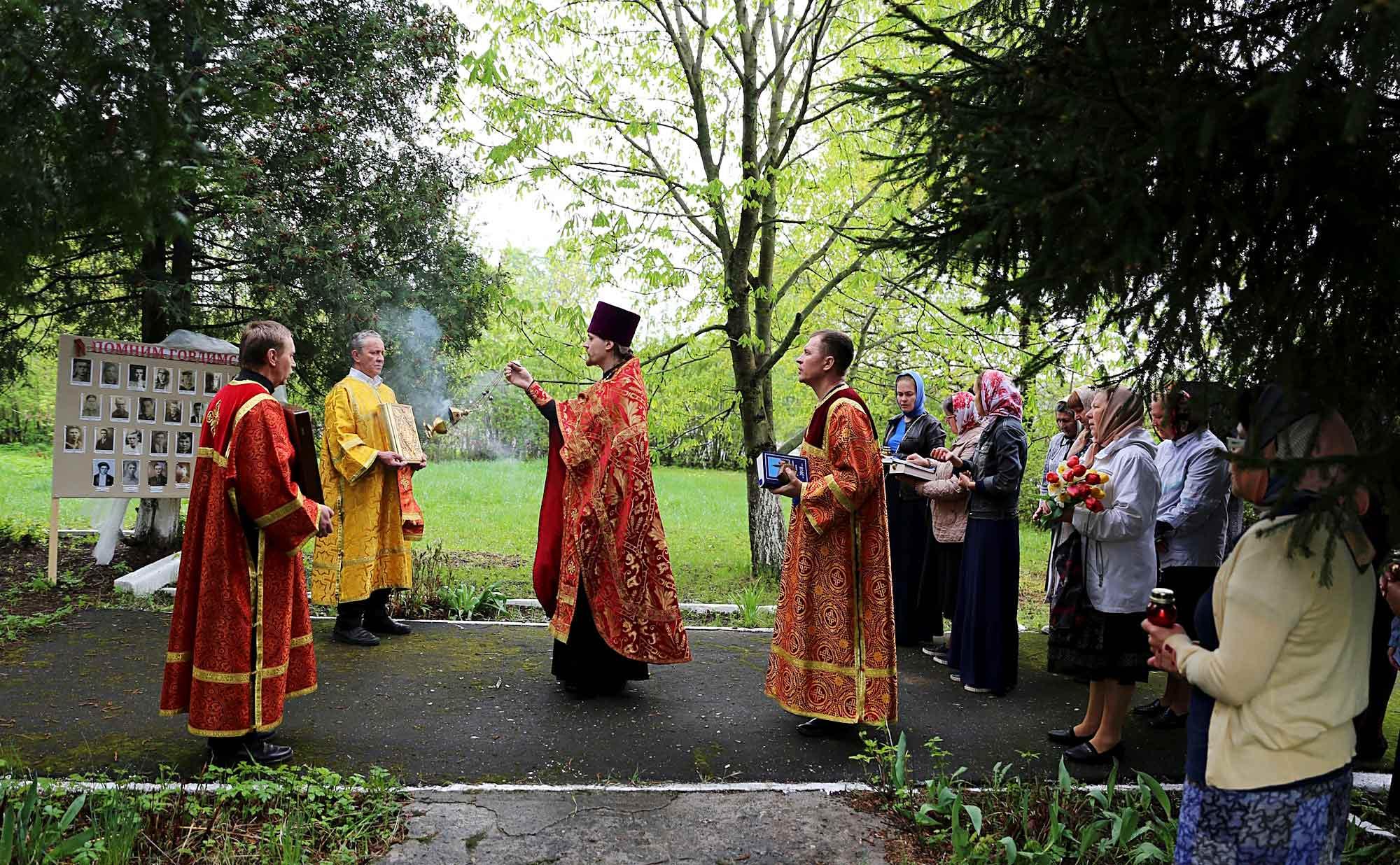 День Победы на приходе Покровского храма села Никульское