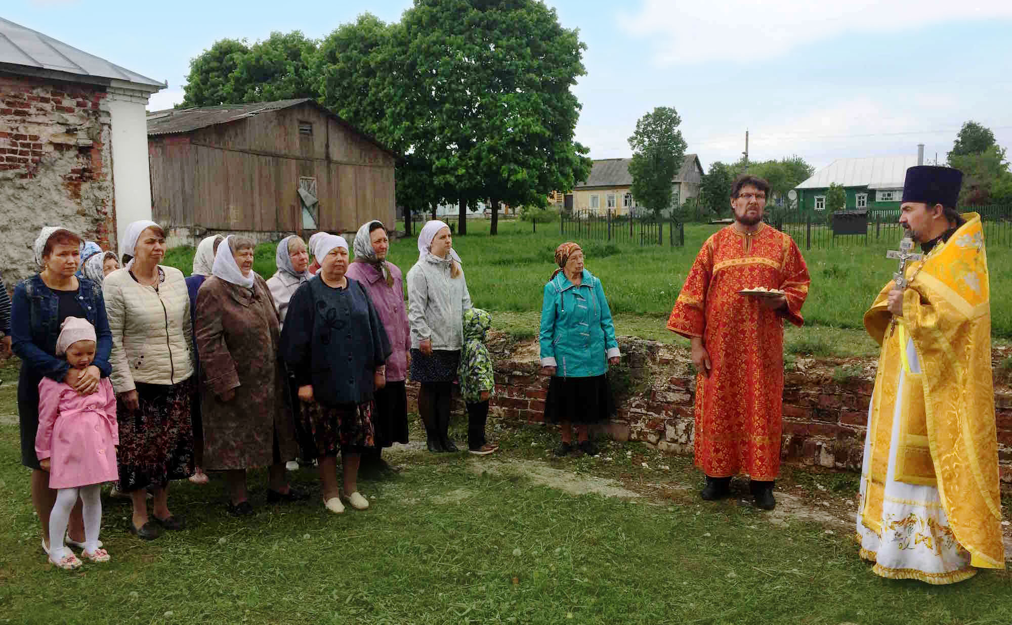 Престольный праздник в Воскресенском храме села Васильево