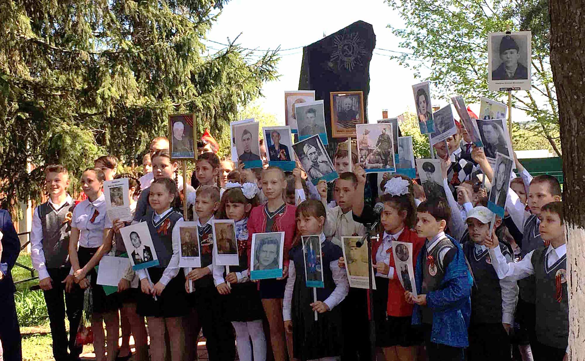 День Победы на приходе Воскресенского храма села Васильево