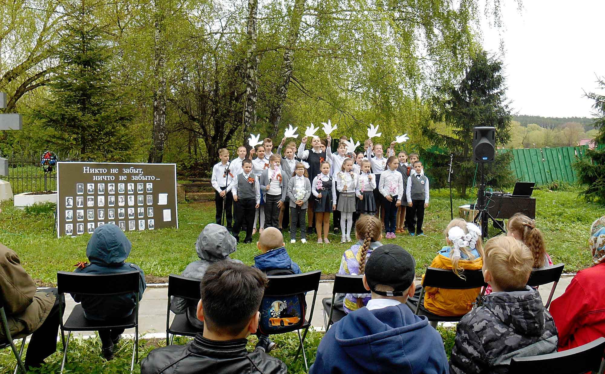 День Победы на приходе Никольского храма села Черкизово