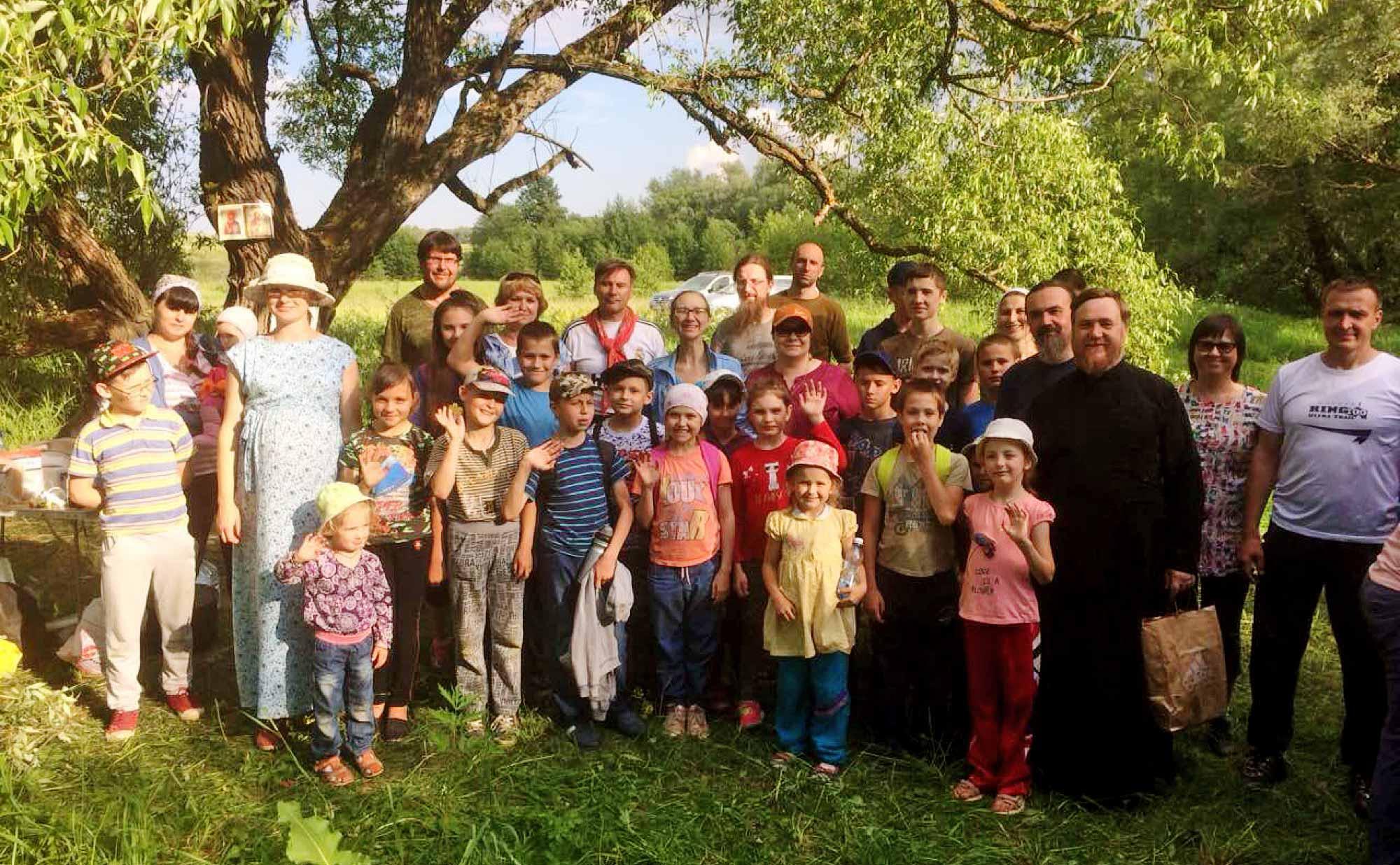 Экологический поход воспитанников воскресных школ благочиний города Коломны и Коломенского округа