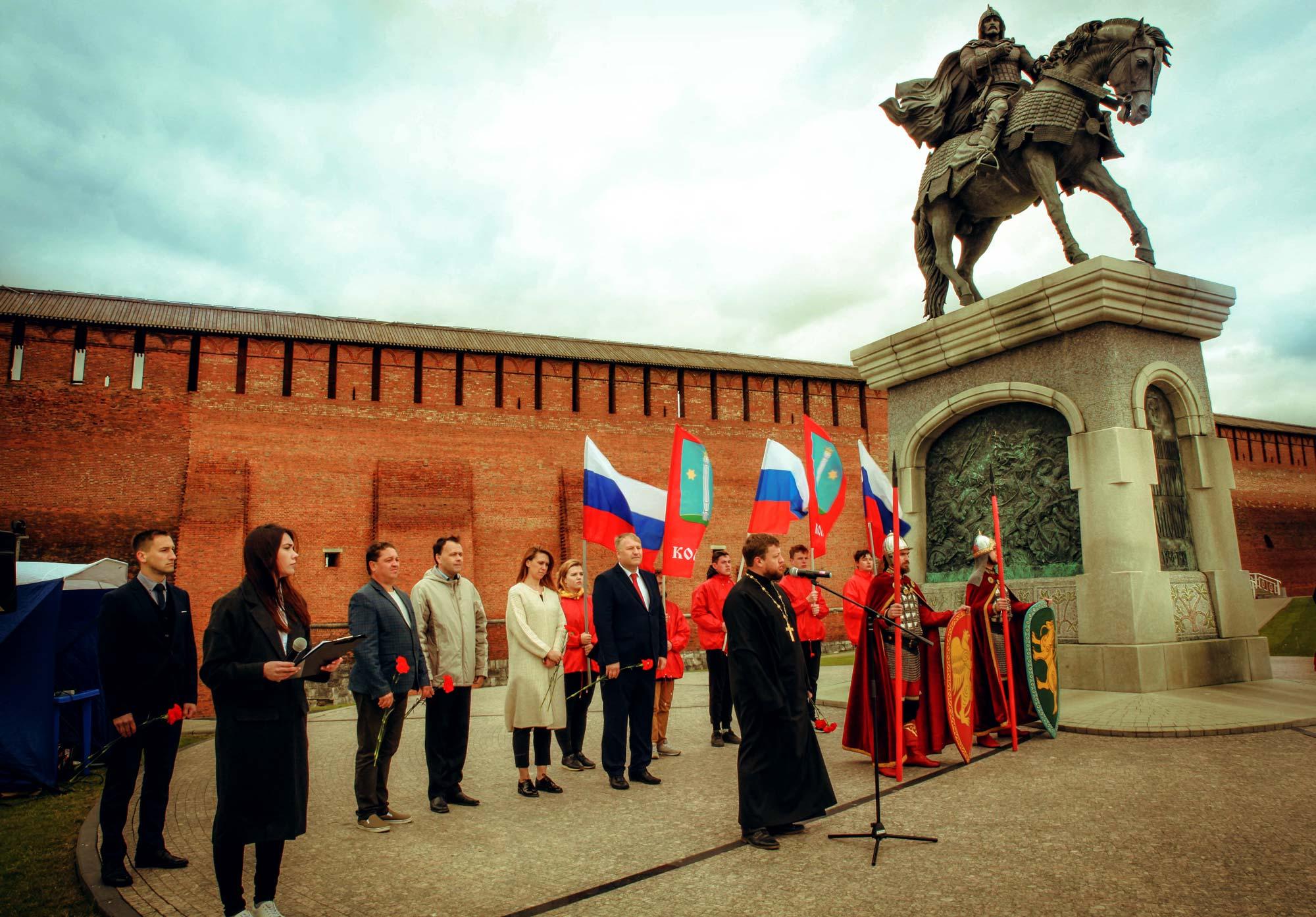 День памяти святых Димитрия Донского и Евдокии Московской в Коломне